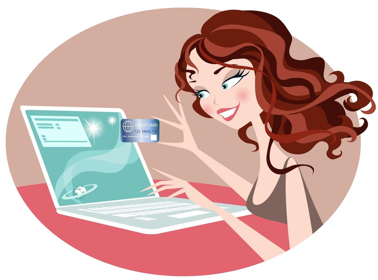 Resultado de imagen para girls buying online