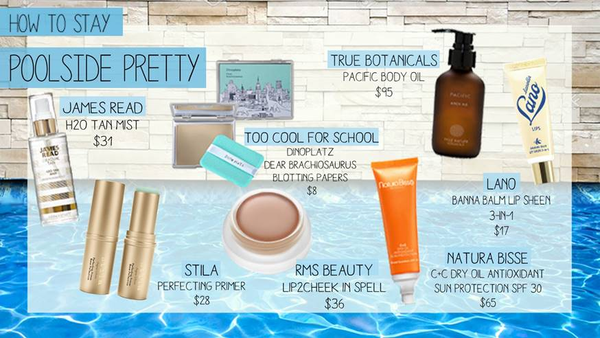How to Stay Poolside Pretty